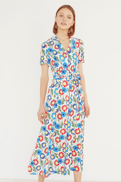 Sunflower Long Maria Dress