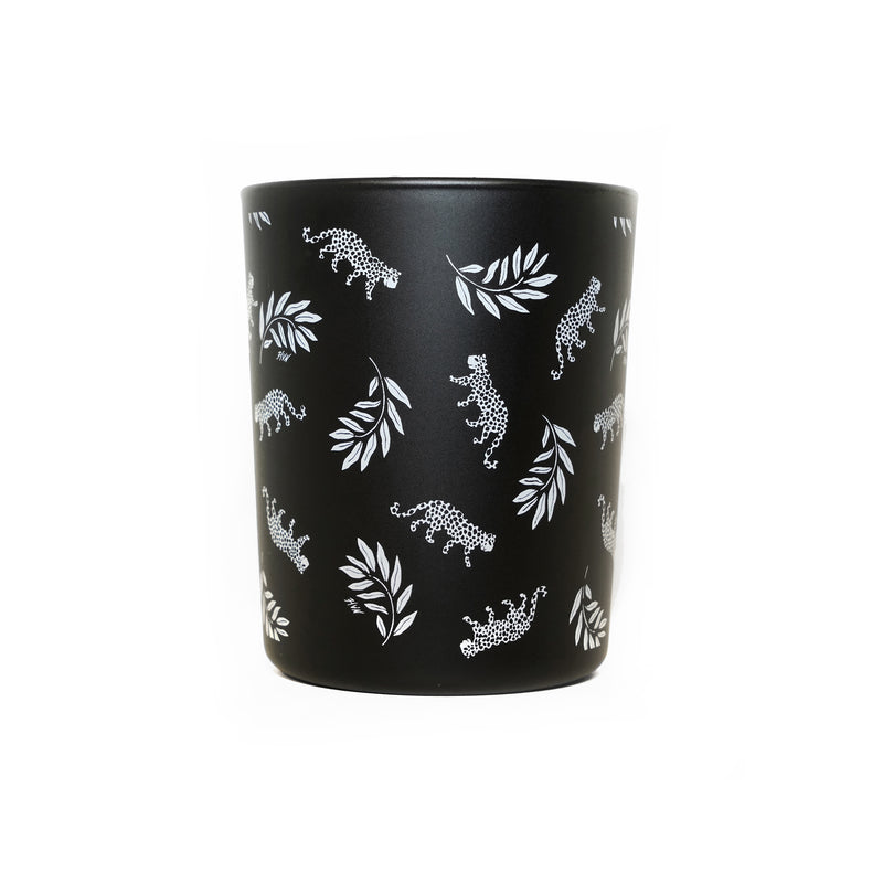 Tarzan Leopard Rainforest Candle