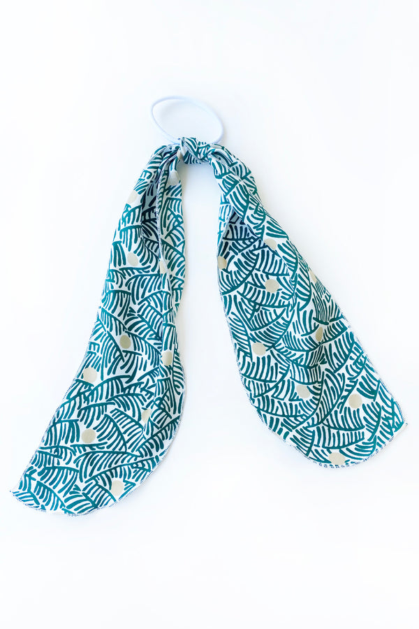 Coconut Silk Hair Scarf