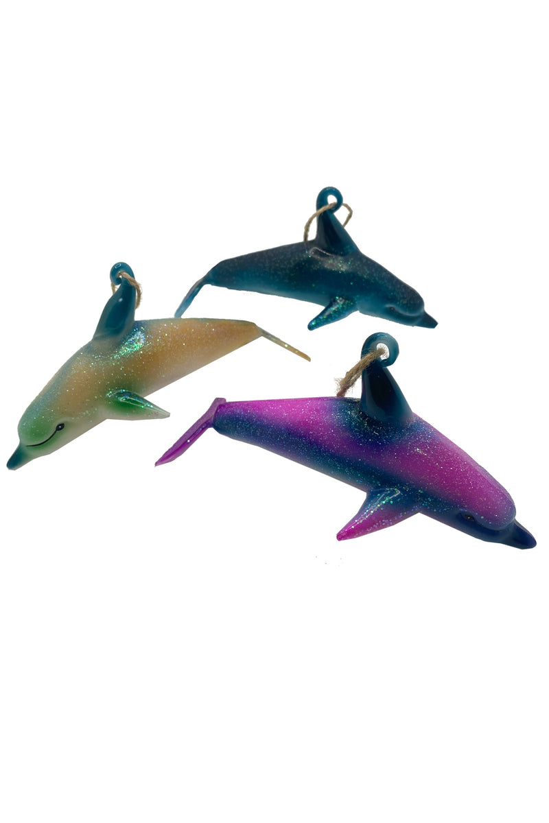 Dolphin Ornament Purple