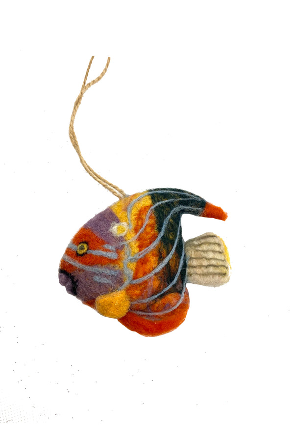 Tropical Fish Ornament Set of 3