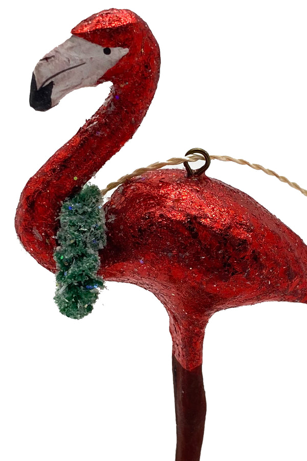 Flamingo Ornament Red