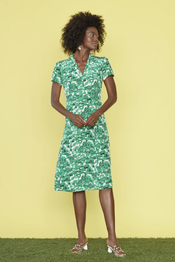 Green Montana Morgan Dress