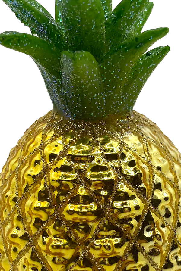 Pineapple Ornament Gold