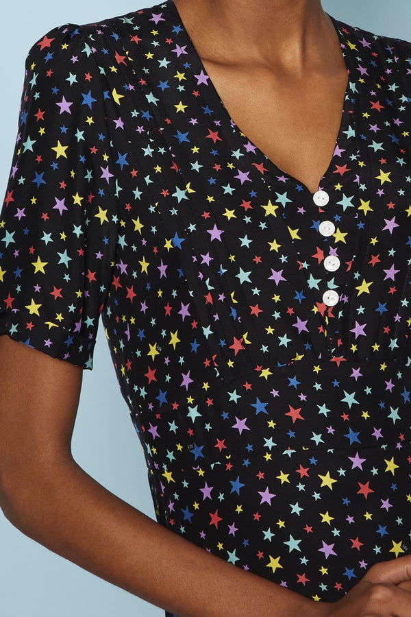 Rainbow Star Lola Dress