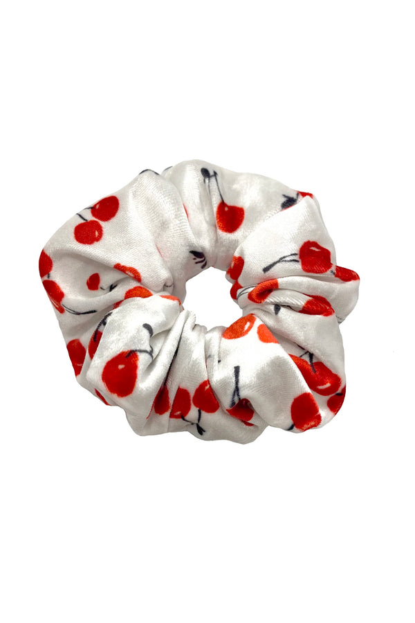 Velvet Cherry XL Scrunchie