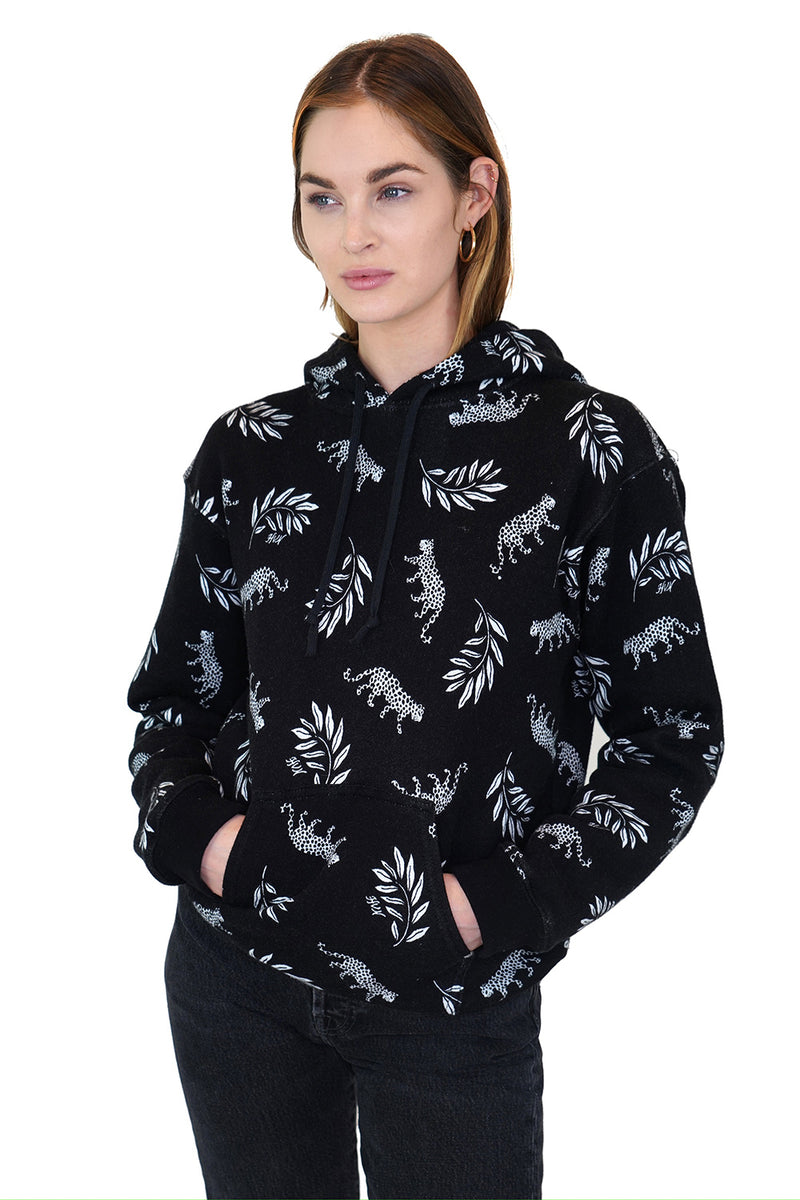 Tarzan Leopard Hooded Sweatshirt