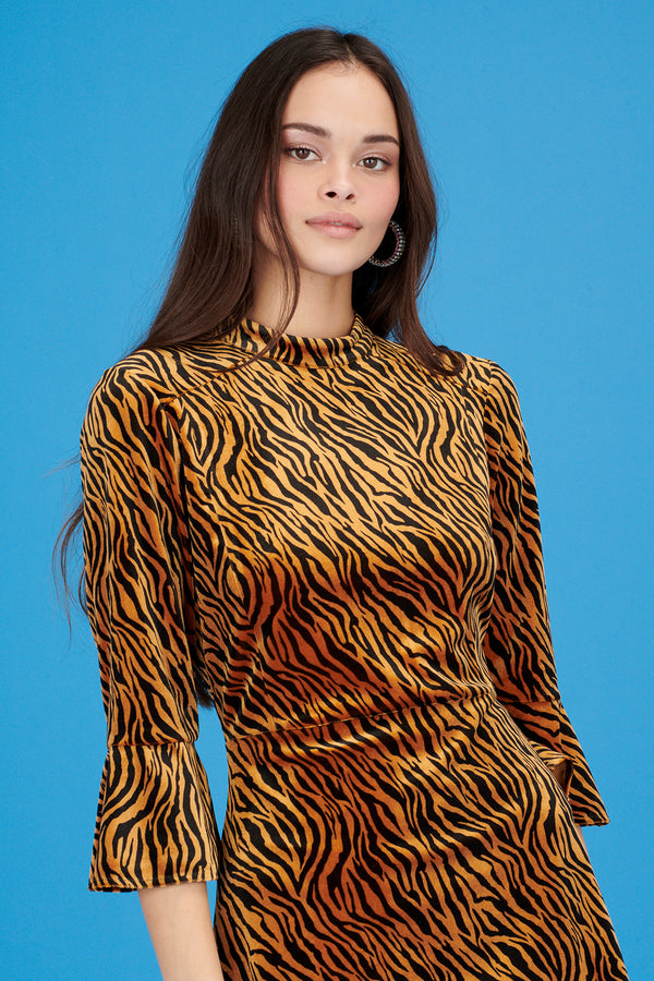 Velvet Tiger Mini Ashley Dress