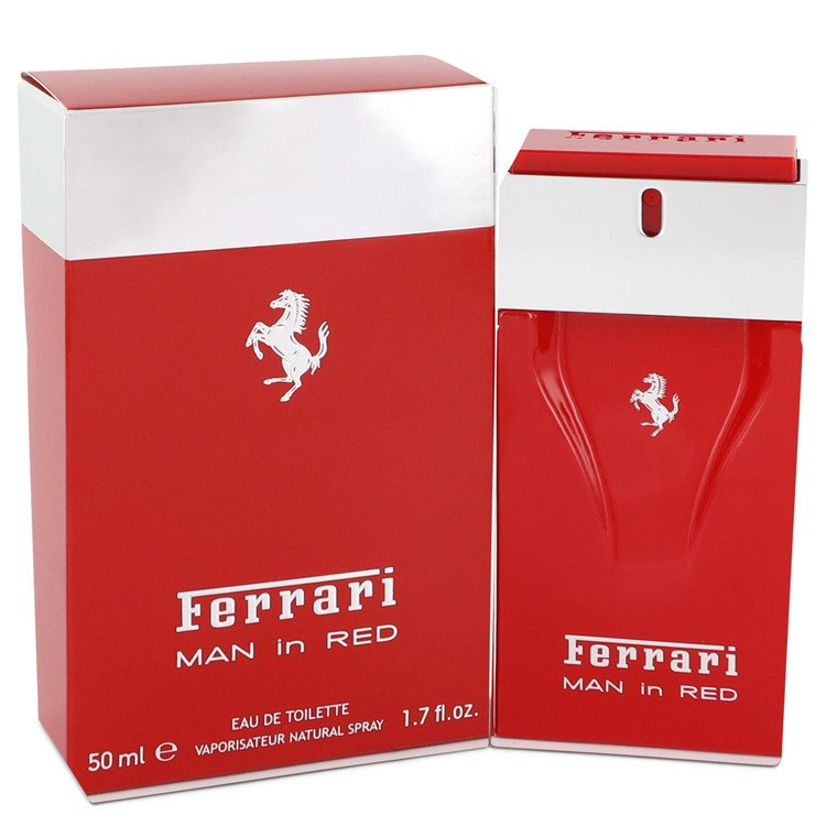 Ferrari Man In Red Eau De Toilette Spray By Ferrari