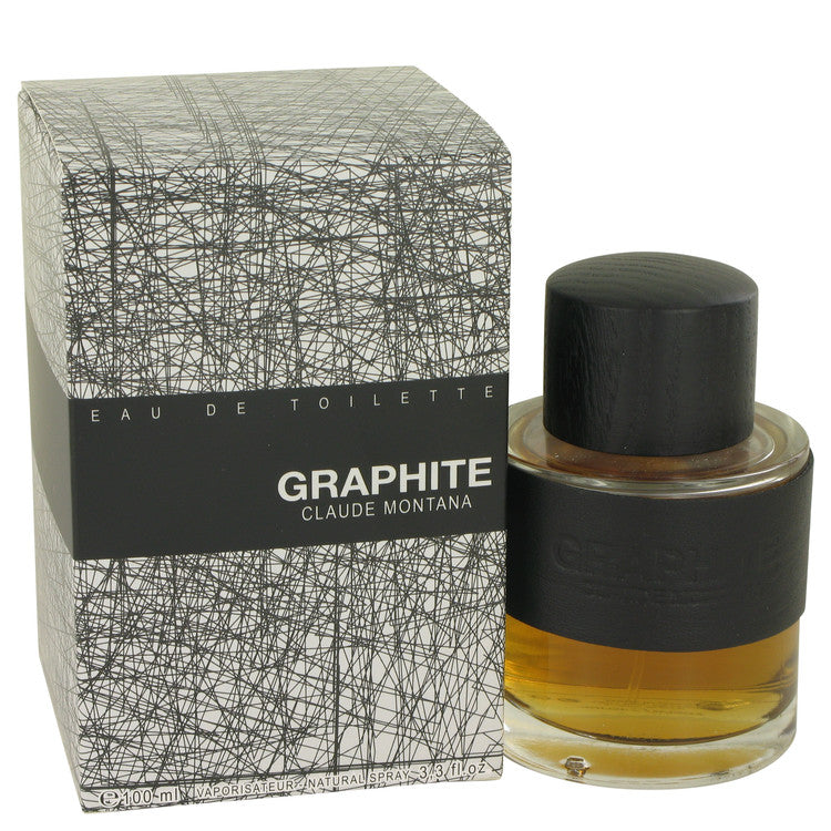 Graphite Eau De Toilette Spray By Claude Montana