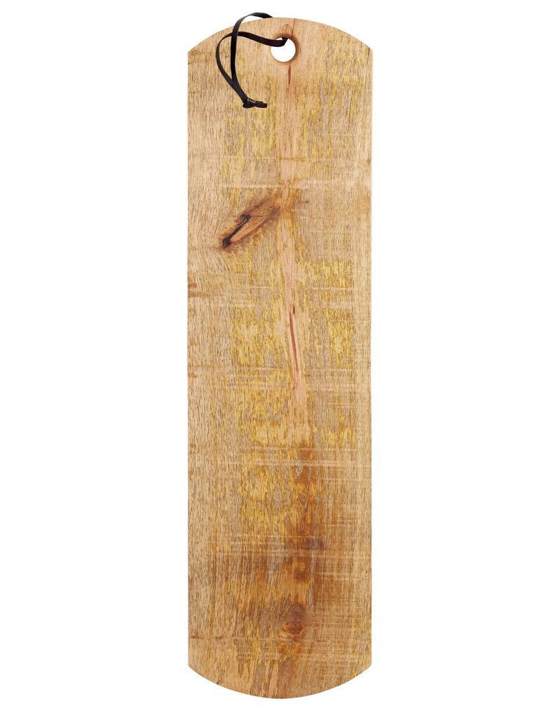 Long Mango Wood Serving Plank