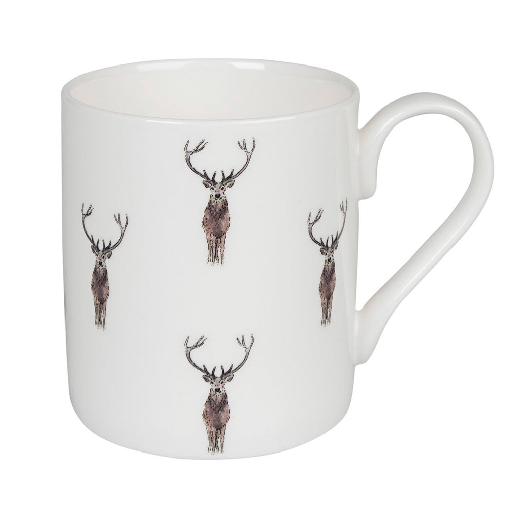 Stags Pattern Mug