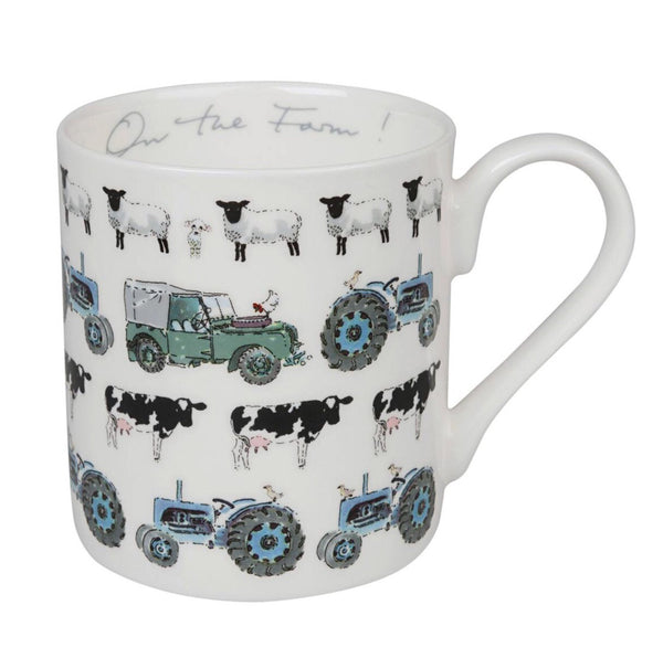 Bone China Mug -On The Farm