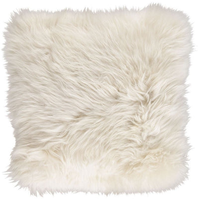 NC Living Cushion, Long-Wool New Zealand Sheepskin, size: 35x35 cm Cushions
