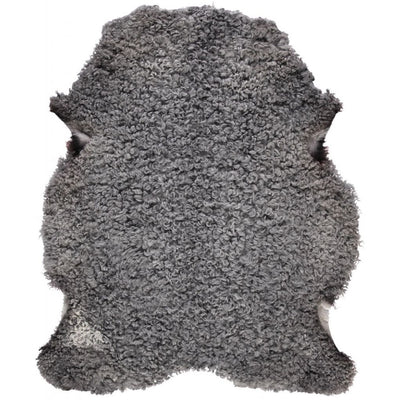 Gotlandic sheepskin - shortwool curly | 90-100 cm.