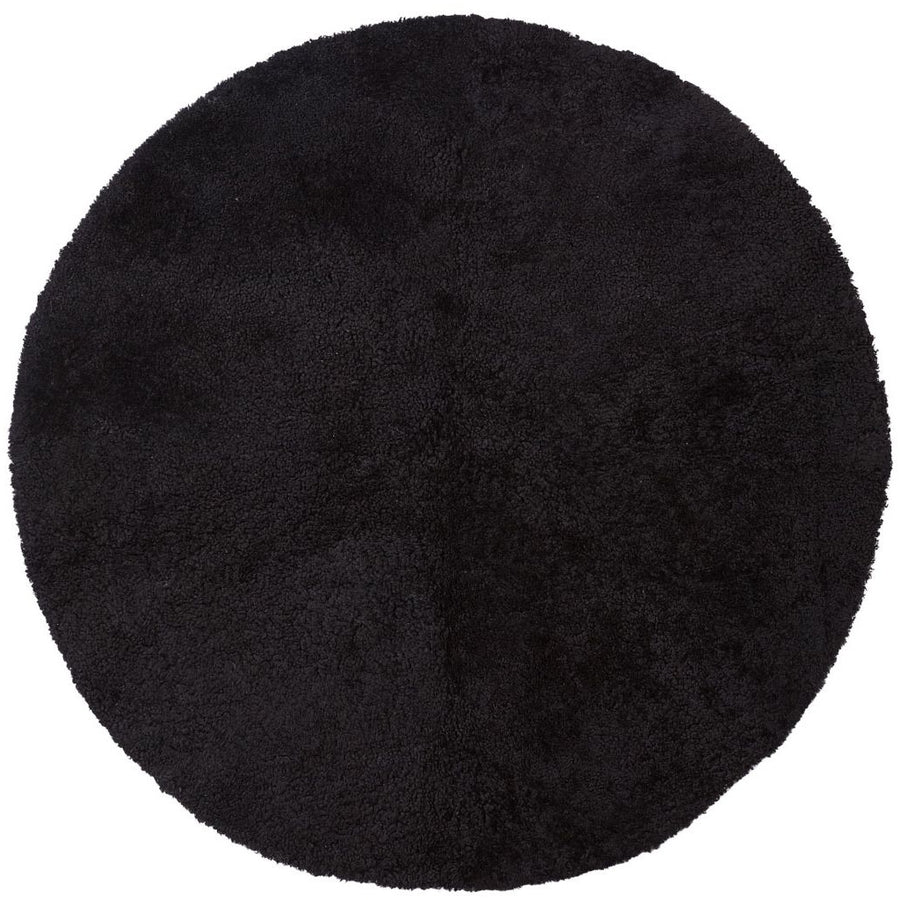 NC Living New Zealand Design Rug - ShortWool Curly | Round | 140cm. Design Rugs