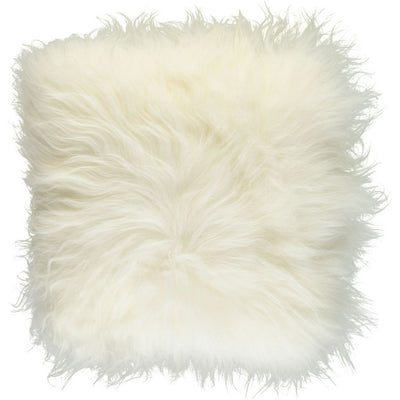 Icelandic sheepskin cushion - Longwool | 40x40 cm.