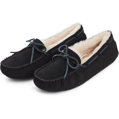 Sailor Slipper (of Suede and Lambskin)