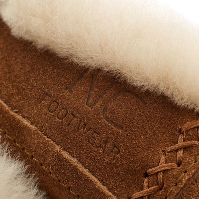 Cozy Slipper (of Suede and Lambskin)