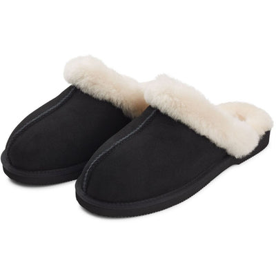 Slipper (of Suede and Lambskin)