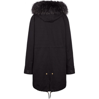 NC Fashion Petra Coats Black/Black