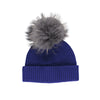 NC Fashion Mathilde Hat (100% Australian Wool) Beanies Blue/Blue Grey