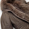 NC Fashion Charlie (Coyote, fox, Goose Down, calf Leather) Jackets