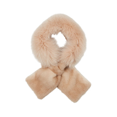 NC Fashion Mira Scarf of Fox/Danish Mink Scarfs Palmino