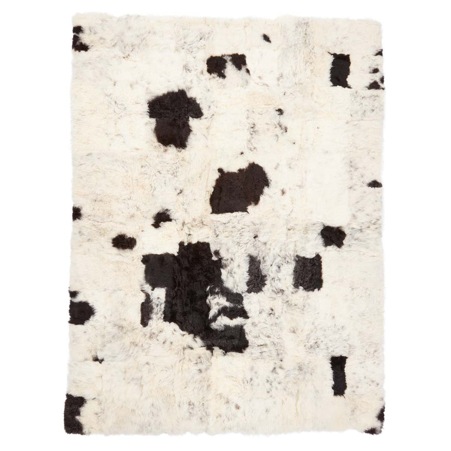 Design Rug, Icelandic Sheepskin, Short Wool, 180x240cm