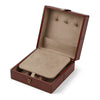 NC Living Jewllery Box of Premium Quality Calf Leather, Size 20x20x9 CM Box