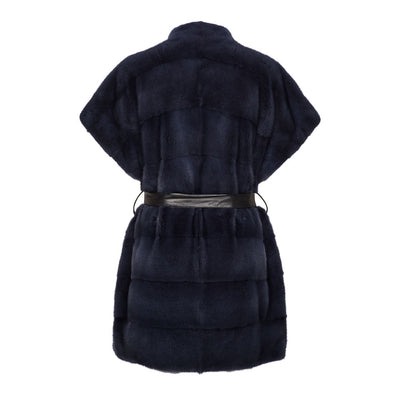 NC Fashion Karen (Vest of Mink) Vests Midnight Blue