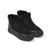NC Fashion Ankle Boot, Suede/Lambskin Shoes Black