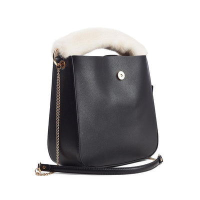 NC Fashion Mink Bag Strap with Zipper, Long, 8x32 cm. Bag