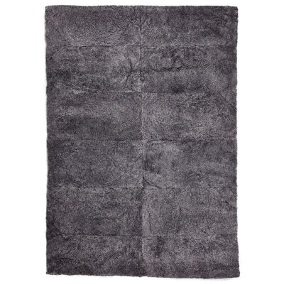 NC Living New Zealand Design Rug - ShortWool Curly | 170x240 cm. Design Rugs Antracite