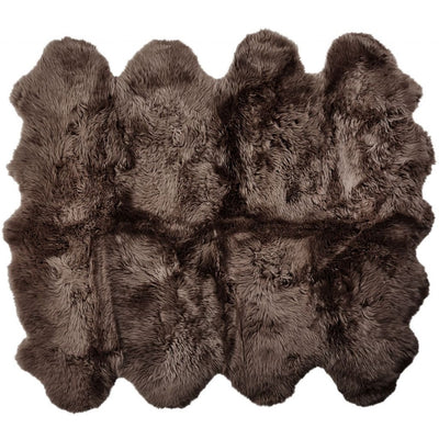 NC Living New Zealand Sheepskin - Longwool | 180x214 cm. Skins Walnut
