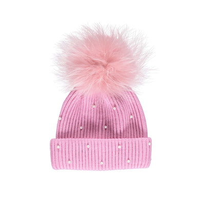 NC Fashion Safina Hat Beanies Pink/Pink