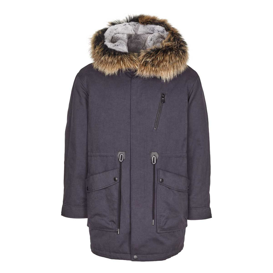Justin (Parka Jacket With Raccoon/Rabbit)