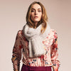 NC Fashion Rose Scarf of Mink Scarfs