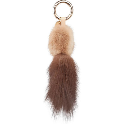 NC Fashion Sable Tail Key Ring Keyhangers