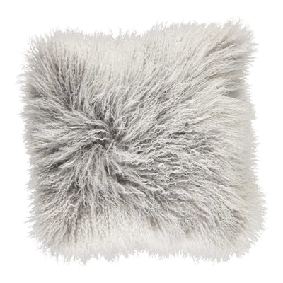 NC Living Cushion,  Tibetan Sheepskin, 60x60 cm Cushions Ash/Snow Top