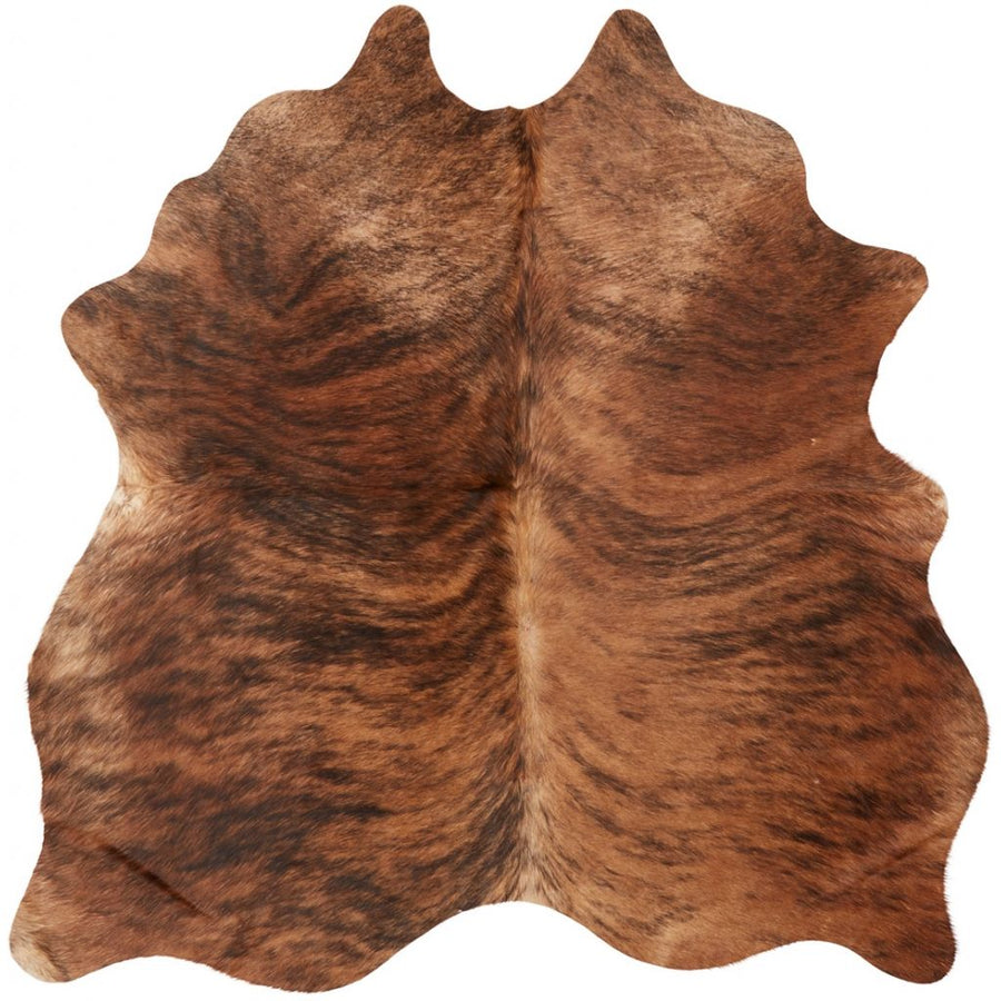 NC Cowhide UNIKA Cow Hide. Size: 2,39 m2. Color: D.Brown Reddish Hides