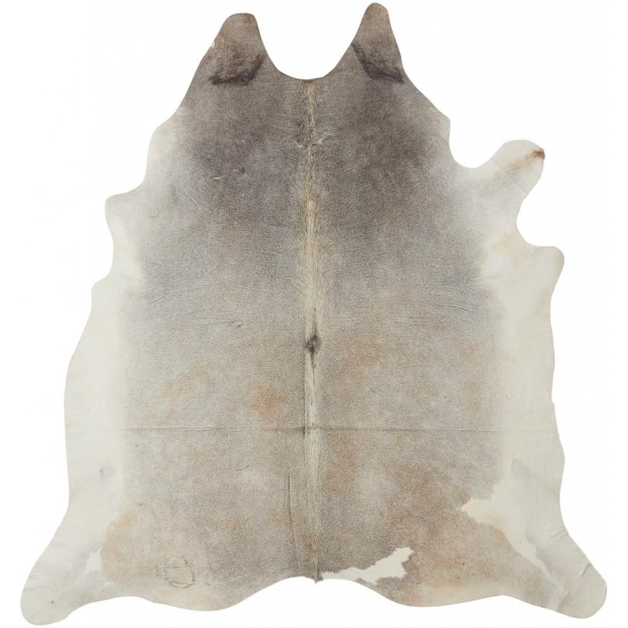 UNIKA Cow Hide. Size: 3,84 m2. Color: Grey Beige