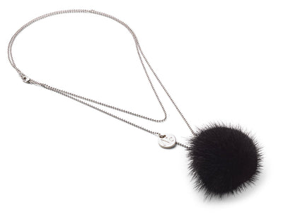 NC Fashion Necklace Pom Pom Mink, A/W 18-19 Necklace