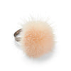 NC Fashion Ring Pom Pom of Mink, A/W 18-19 Rings