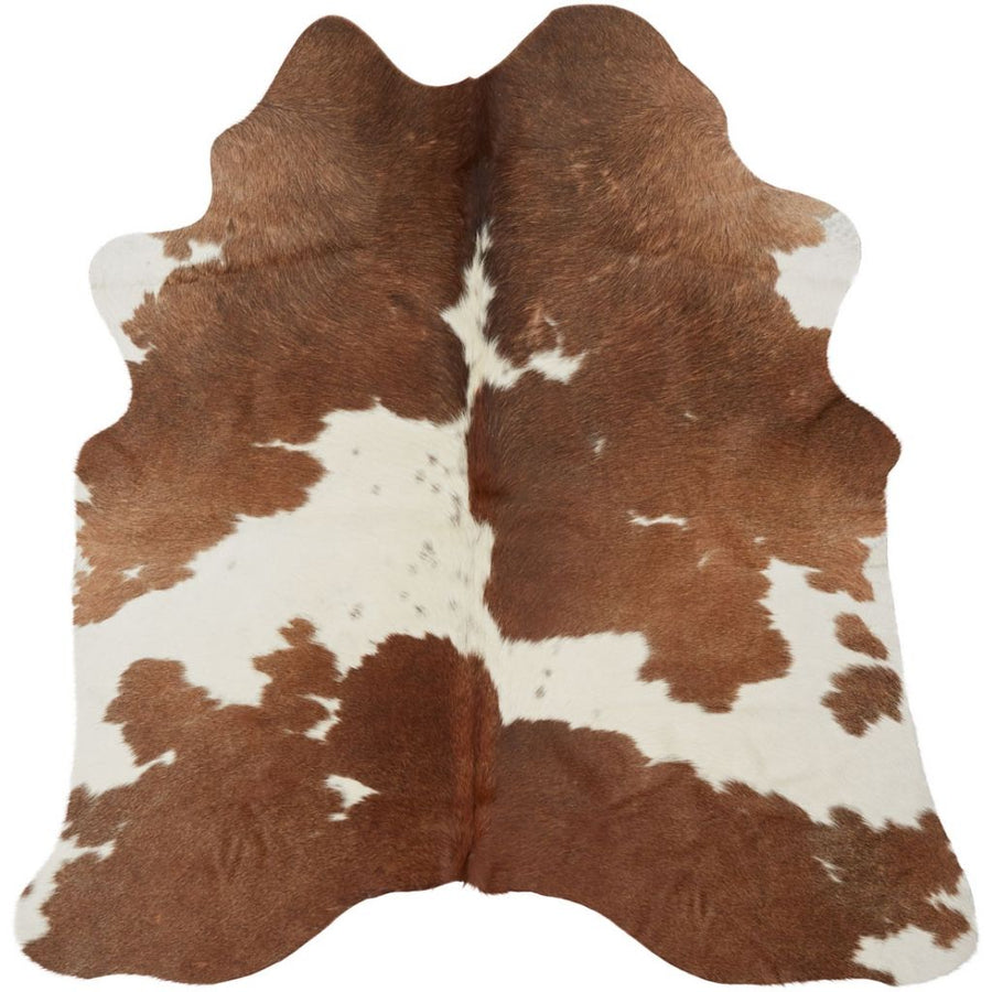 NC Cowhide UNIKA Cow Hide. Size: 2,2 m2. Color: Brown/White Hides Brown/White