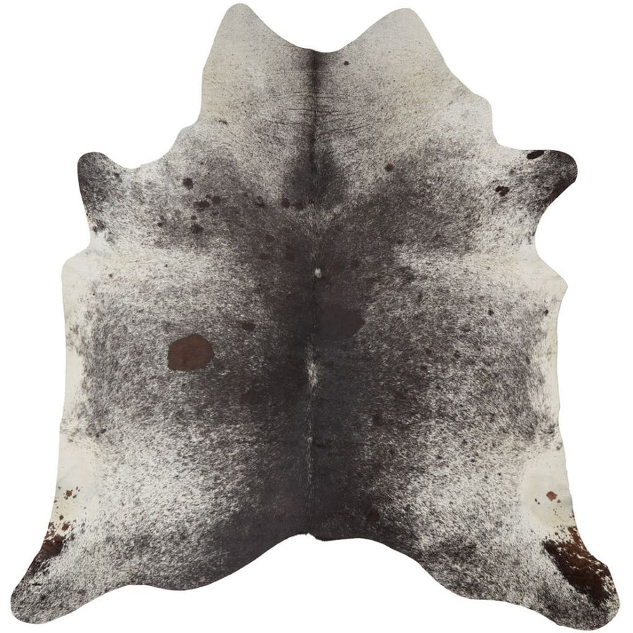 NC Cowhide UNIKA Cow Hide. Size: 1,6 m2. Color: Salt&pepper (brown/white) Hides