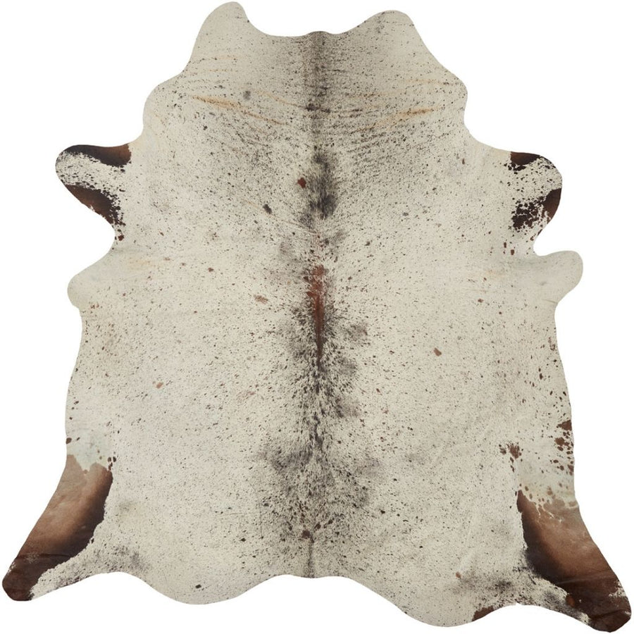 NC Cowhide UNIKA Cow Hide. Size: 3,75 m2. Color: Salt/pepper (brown/white) Hides