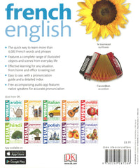 DK French-English Visual Bilingual Dictionary. With Audio. Full of colour illustrations and photos