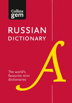 Collins Gem Russian Dictionary: Russian-English & English-Russian