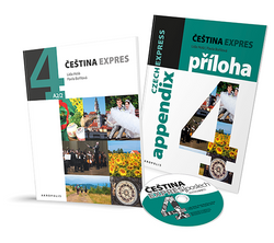 Cestina Expres / Czech Express 4 (Textbook, English Appendix and CD) - 9788074702051 - front covers